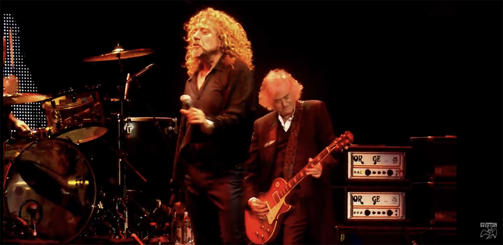Jimmy Page 02 Arena 2012 Led Zeppelin Orange Orge Amp