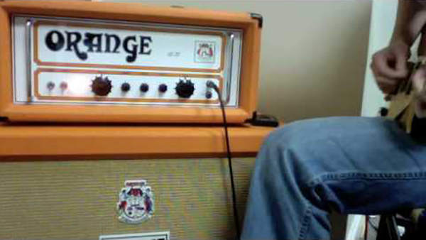 Jimmy Page Orange Amplifier Led Zeppelin