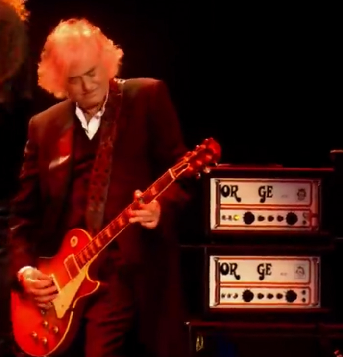 Jimmy Page ORGE Orange Amplifier ORGY Led Zeppelin