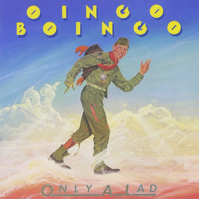 Oingo Boingo Only A Lad Normal Rockwell Boys Scouts of America
