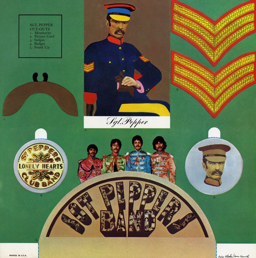 The Beatles Sgt Pepper Lonely Hearts Club Band Album