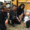 Verne Troyer Mini Me Johnny Depp Rob Deleo Alice Cooper Hollywood Vampires Backstage
